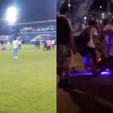 Con balazos se desató la violencia en Celaya tras partido contra San Luis [Video]