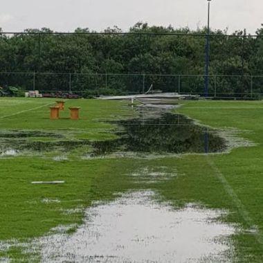 La nueva cantera de Pumas no soportó la lluvia