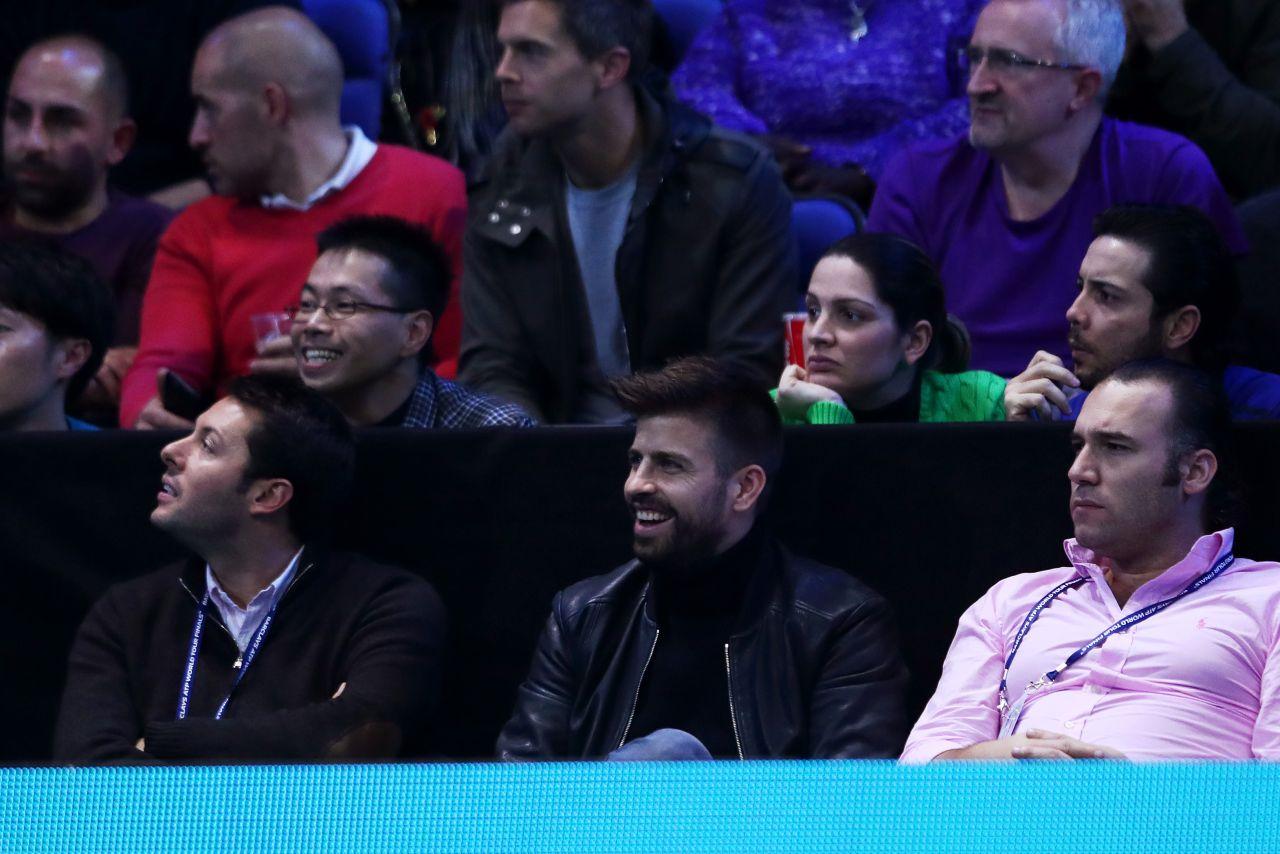 Gerard Piqué ATP Finals 2016