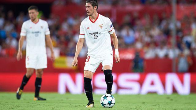 Lesión Capitán Sevilla Sergio Escudero Video