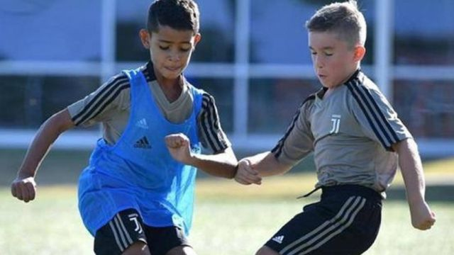 Hijo Cristiano Ronaldo Cristiano Jr Juventus Los Pleyers