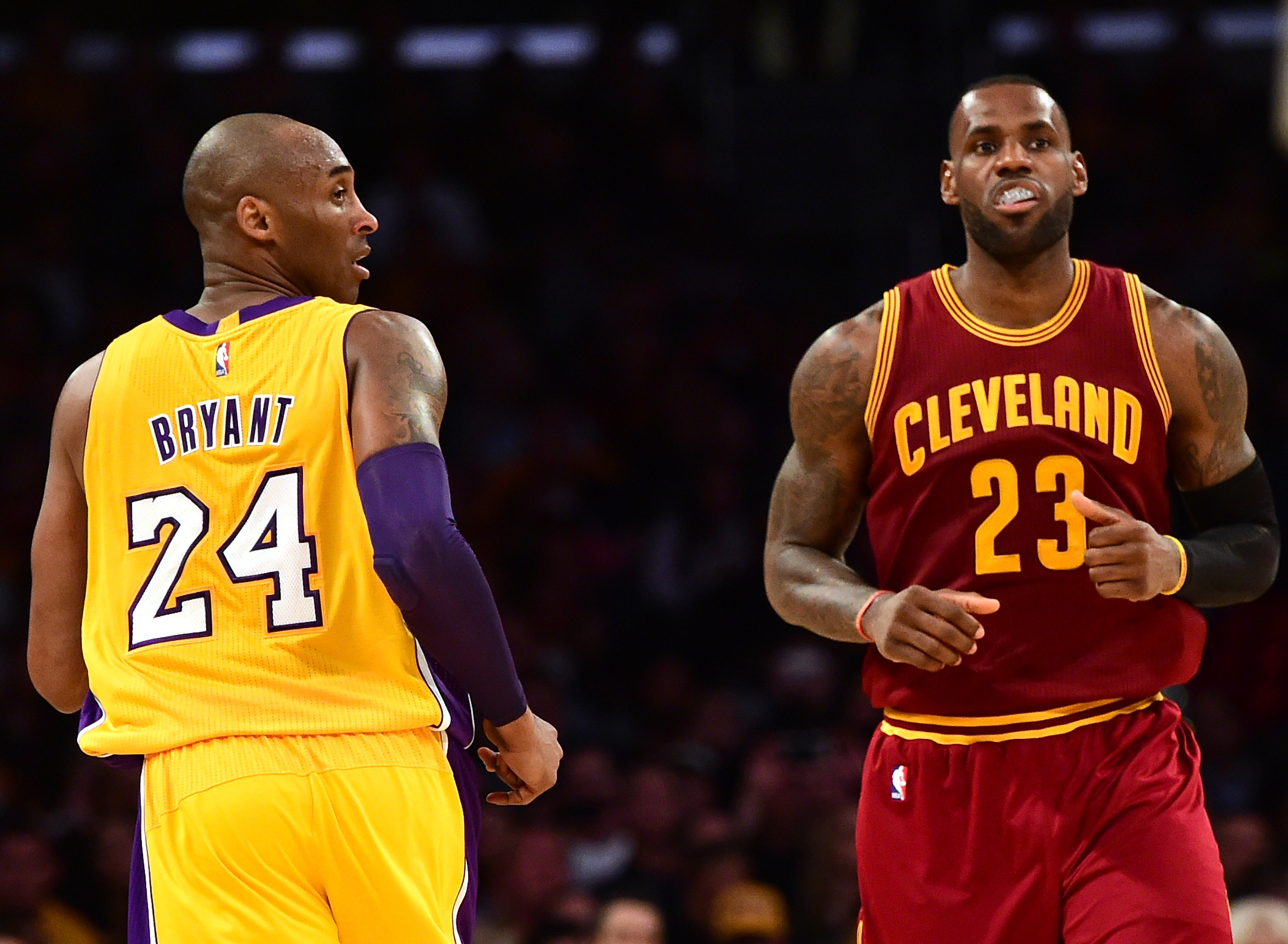 Kobe Bryant, Lebron James, Los Lakers, Los Angeles