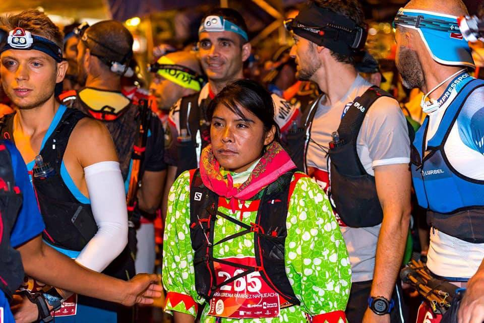 Lorena Ramírez, Raramurí, Ultramaratón, AMLO