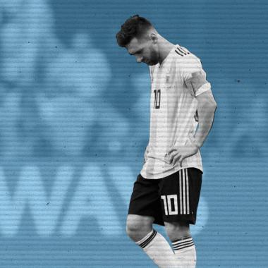 Leo Messi Argentina Retiro Selección