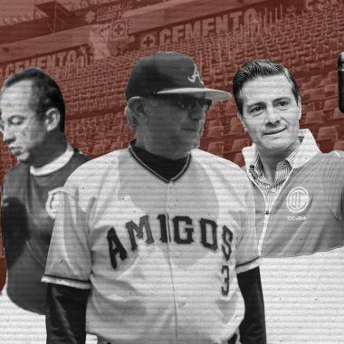 AMLO y el beisbol desenterraron las pasiones deportivas de los ex presidentes de México