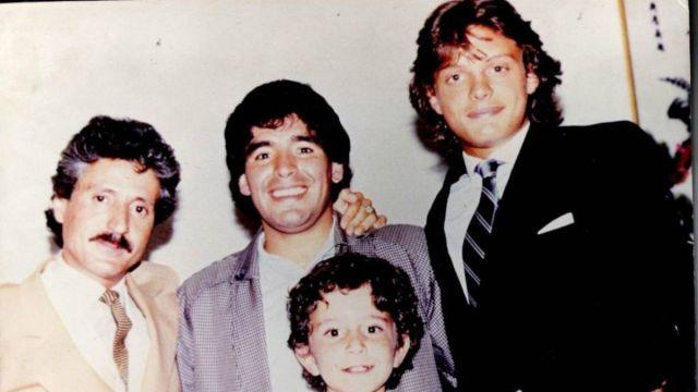 Diego Armando Maradona Luis Miguel Cuenta