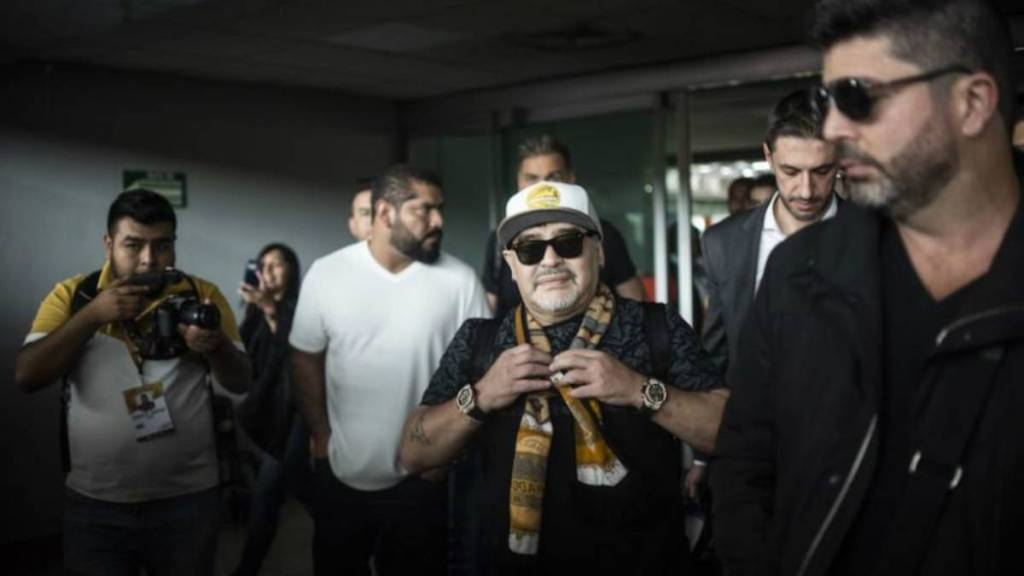 Christian Bragarnik Promotor Maradona México Dorados