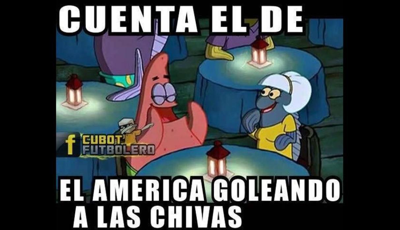 América, Chivas, Clásico, Memes