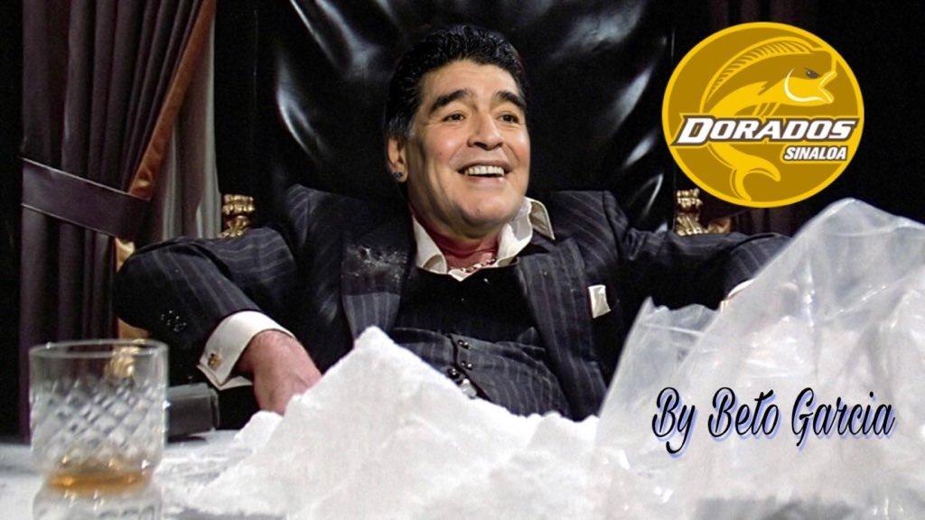 Coca Maradona Dorados Los Pleyers