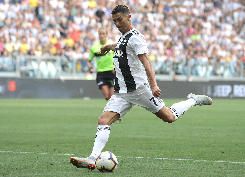 Cristiano Ronaldo, Juventus, Sassuolo, Goles
