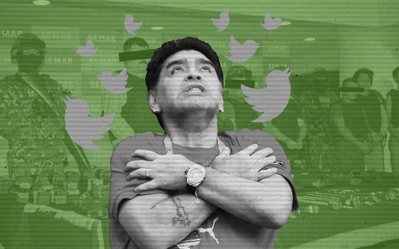Diego Maradona, Dorados, Sinaloa, Reacciones