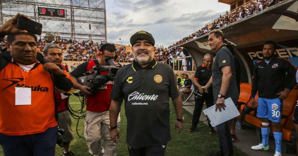 Maradona Primer Partido Visitante Ascenso Oaxaca