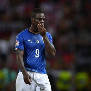 Balotelli reportó a la Selección de Italia con sobrepeso