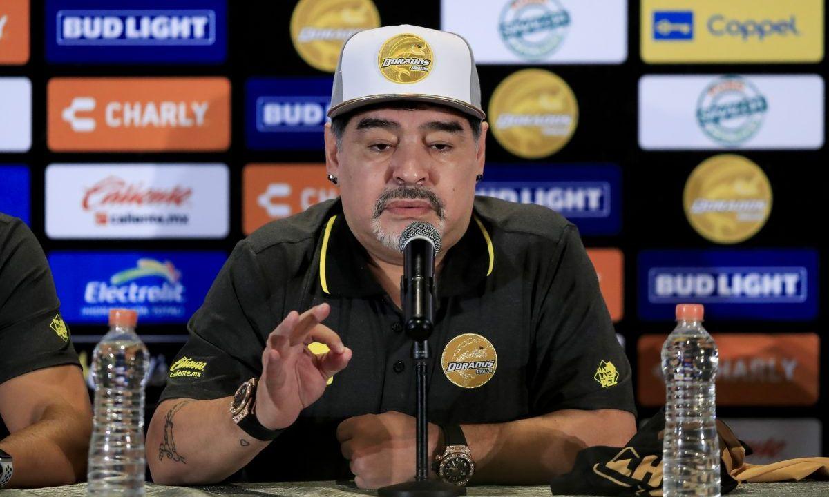 Maradona, Queja, Árbitro, FIFA, Dorados, Derrota
