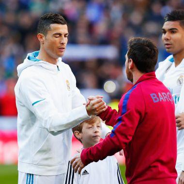 Leo Messi, Cristiano Ronaldo, The Best, Ausencia