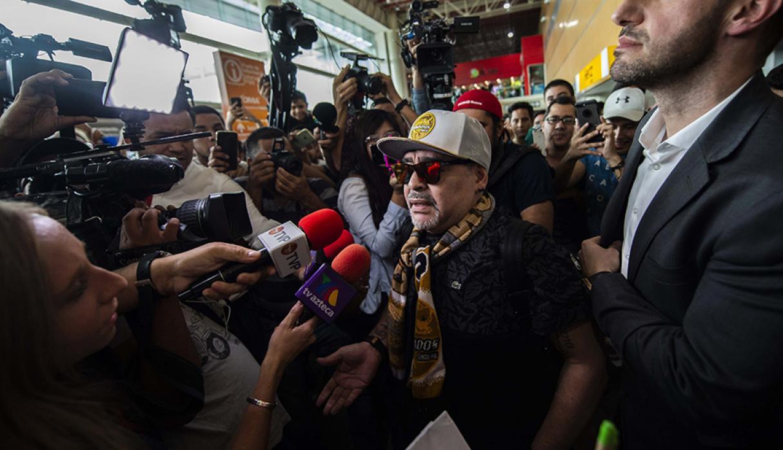 Maradona Ciudad México Los Pleyers