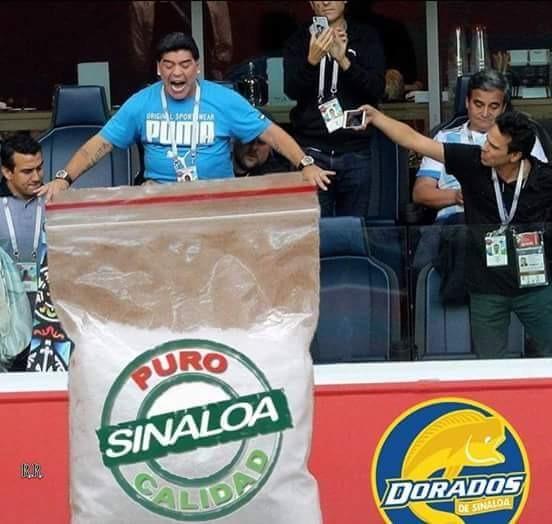 Maradona Dorados Regalo Pleyers