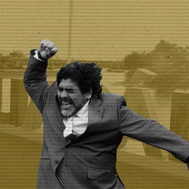 ¿A qué viene Maradona a México?