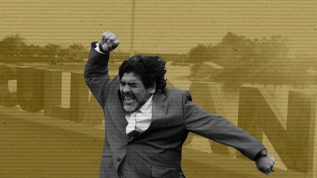 Maradona Tecnico Ascenso MX Dorados Sinaloa Futbol Mexicano Liga MX