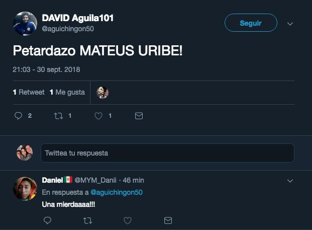 Mateus Uribe América Los Pleyers