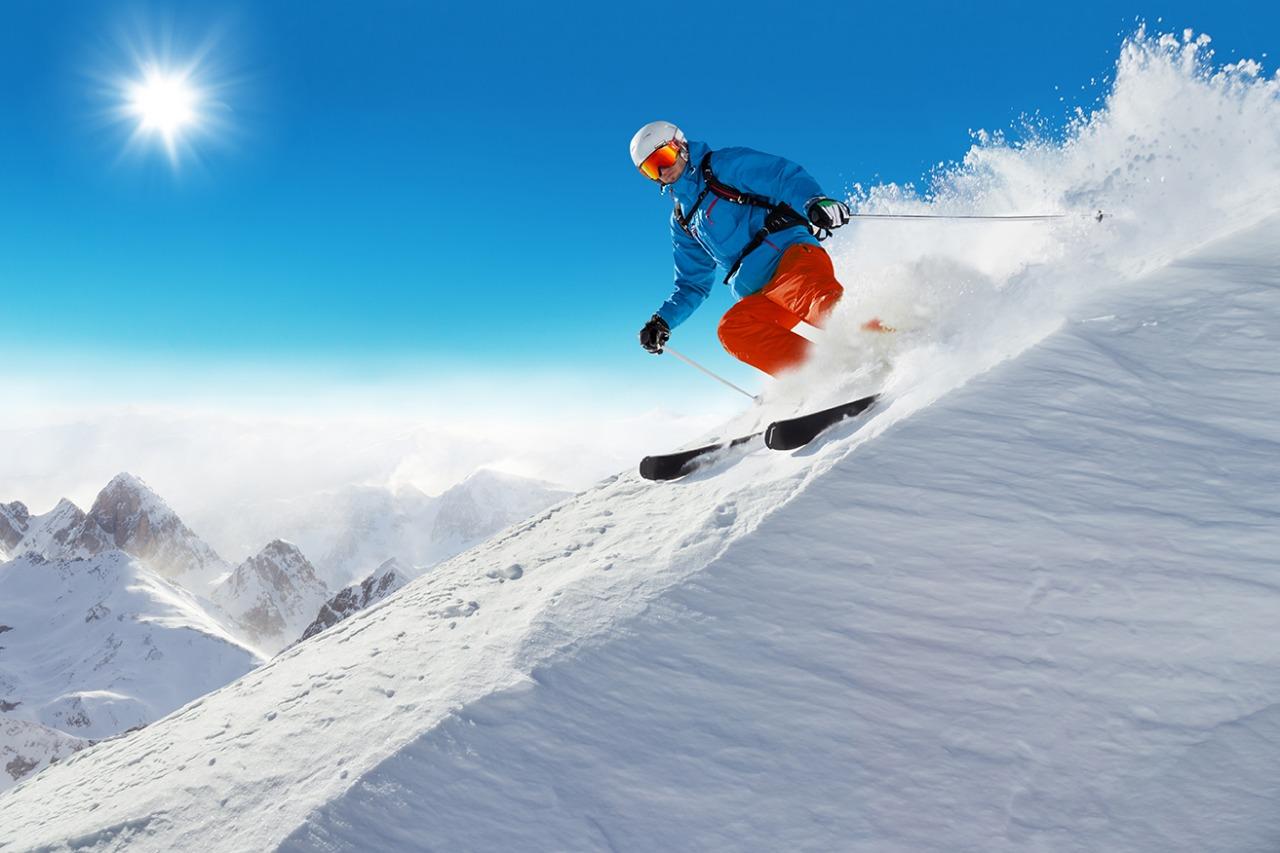 Nevada Snowboarding Deporte Naturaleza Turismo Estados Unidos