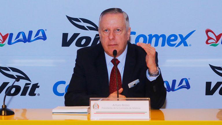 VAR Arturo Brizio Los Pleyers