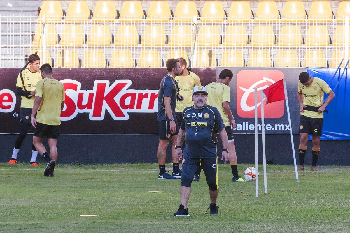 Novia de Maradona se unirá como jugadora a Dorados Femenil