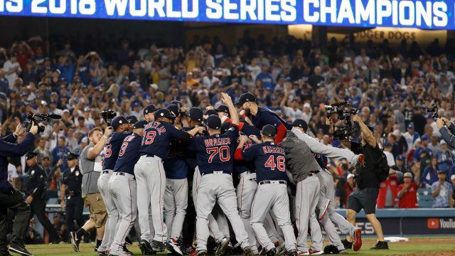 Boston Red Sox, Los Angeles Dodgers, Serie Mundial 2018, Campeón Los Pleyers