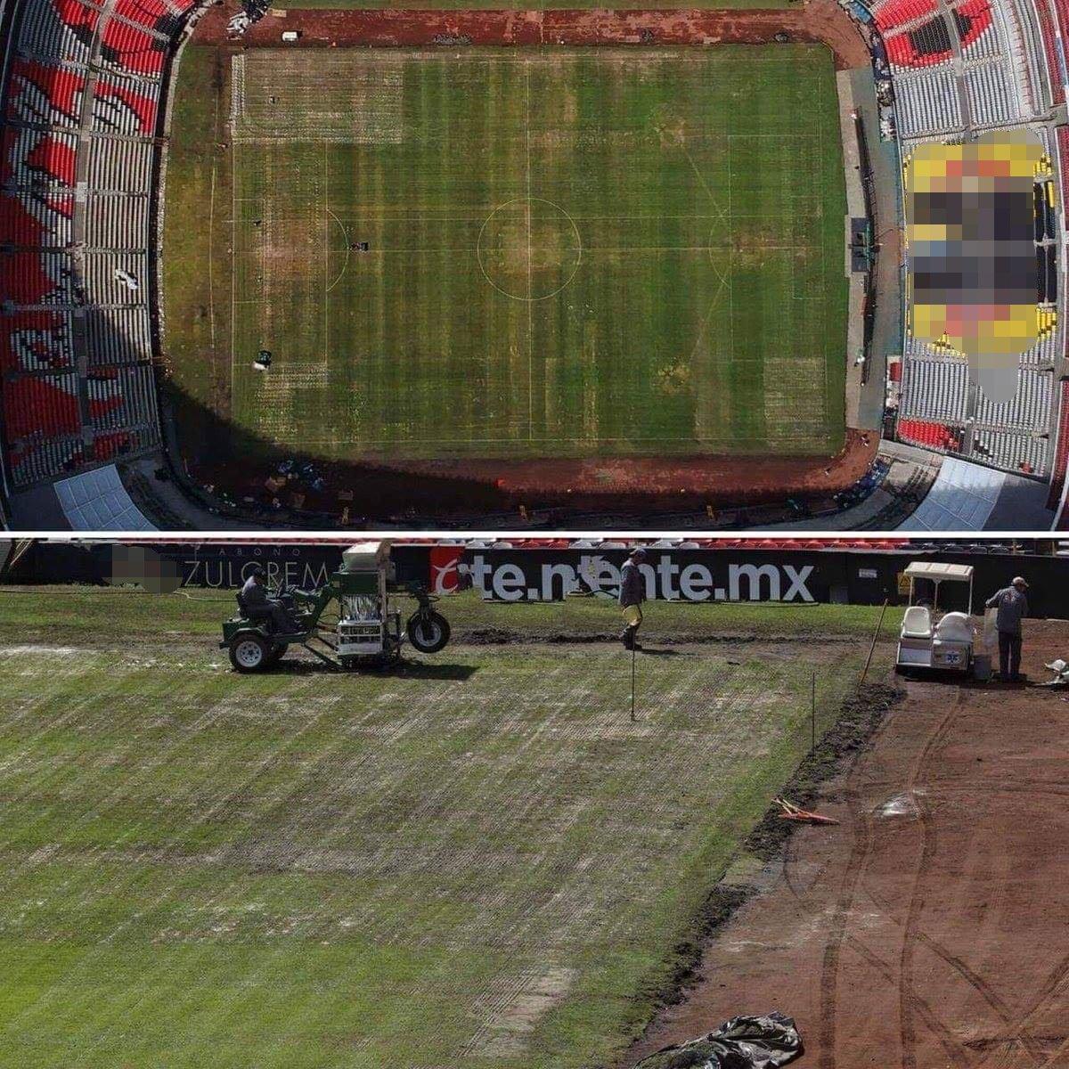 Cancha Estadio Azteca Los Pleyers