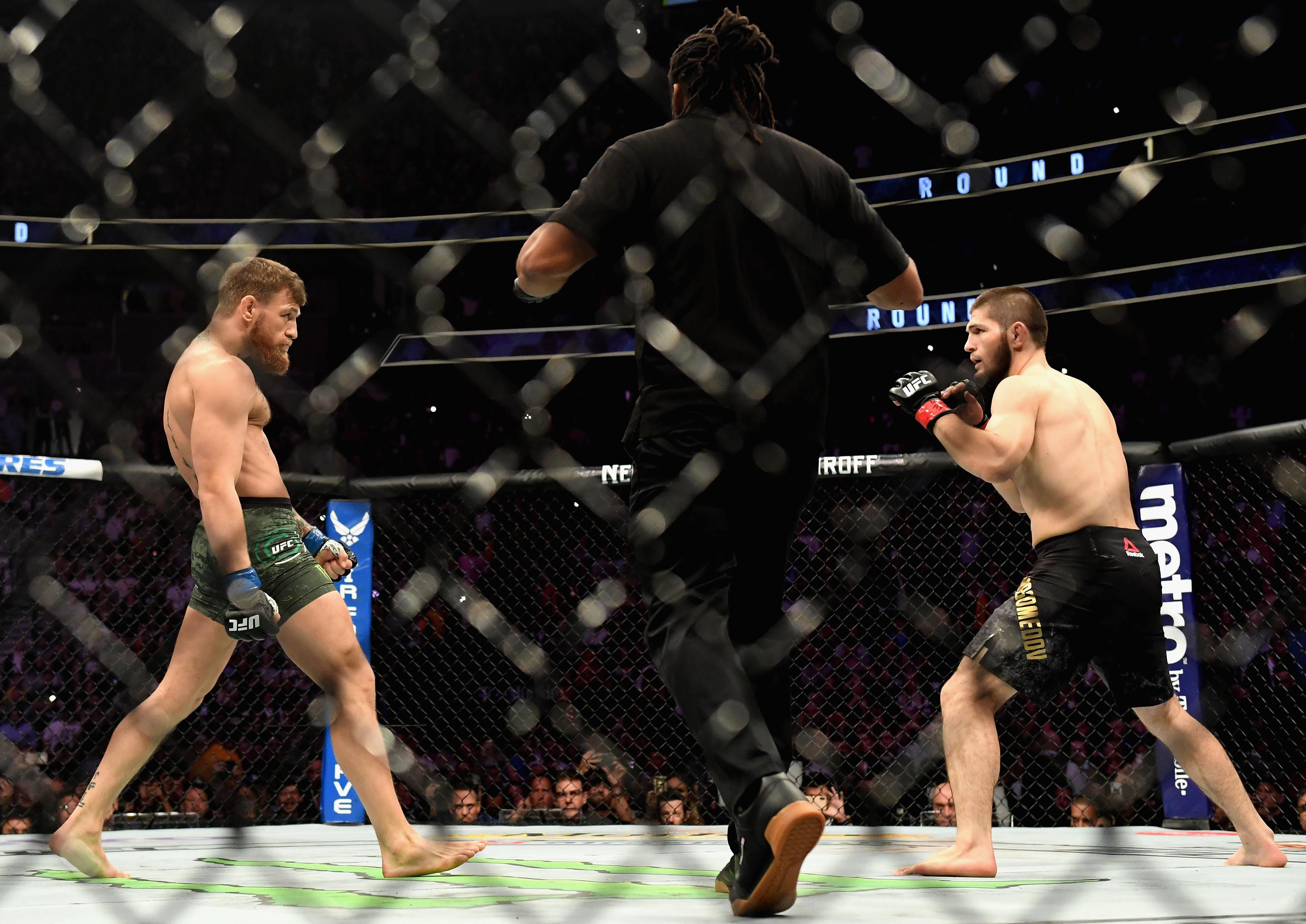 Conor McGregor, Khabib Nurmagomedov, Dana White, UFC