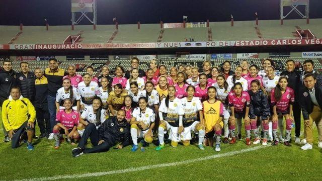 Realiza Primer Partido Femenil Liga Ascenso