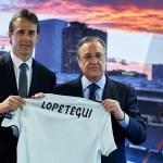 Julen Lopetegui Real Madrid Santiago Solari España La Liga Florentino Pérez
