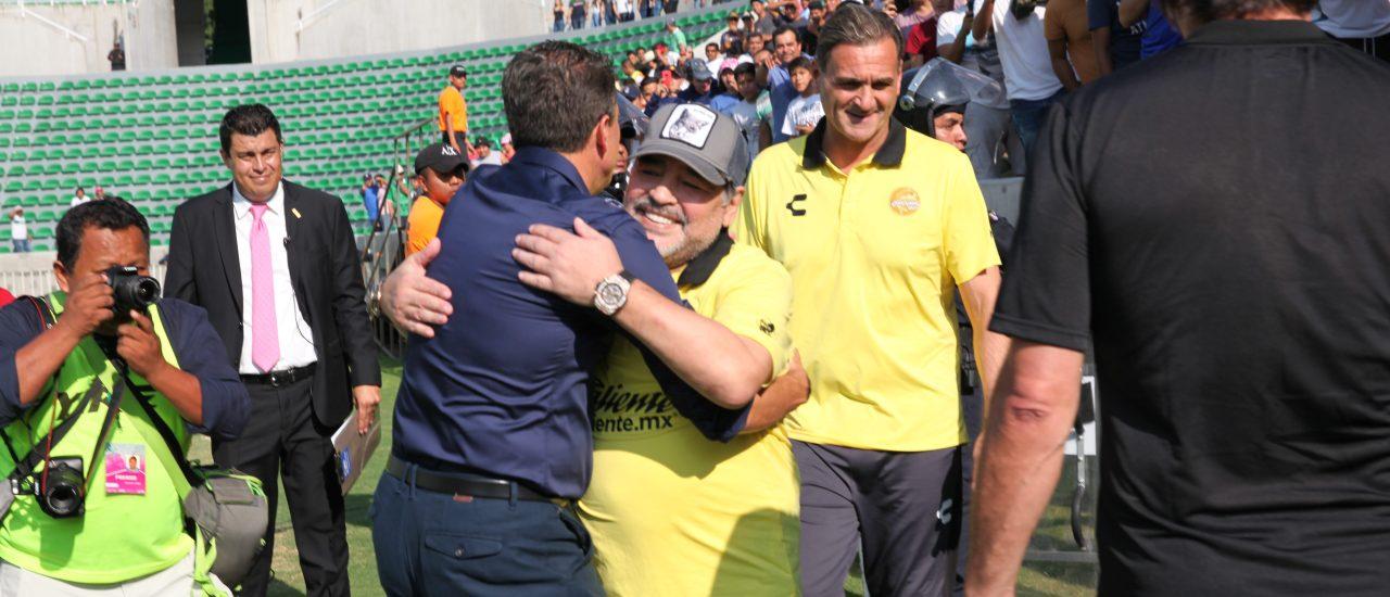 Diego Maradona Zacatepec Dorados Victoria Ascenso