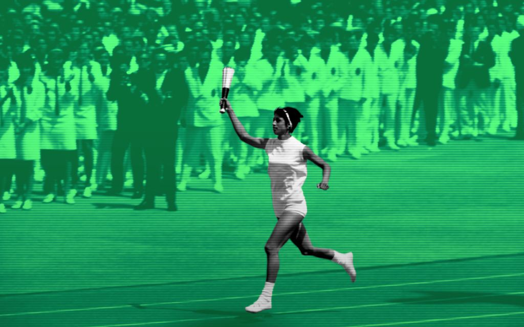Juegos Olímpicos 1968 México Imagen Afición Publico Protestas Tlatelolco