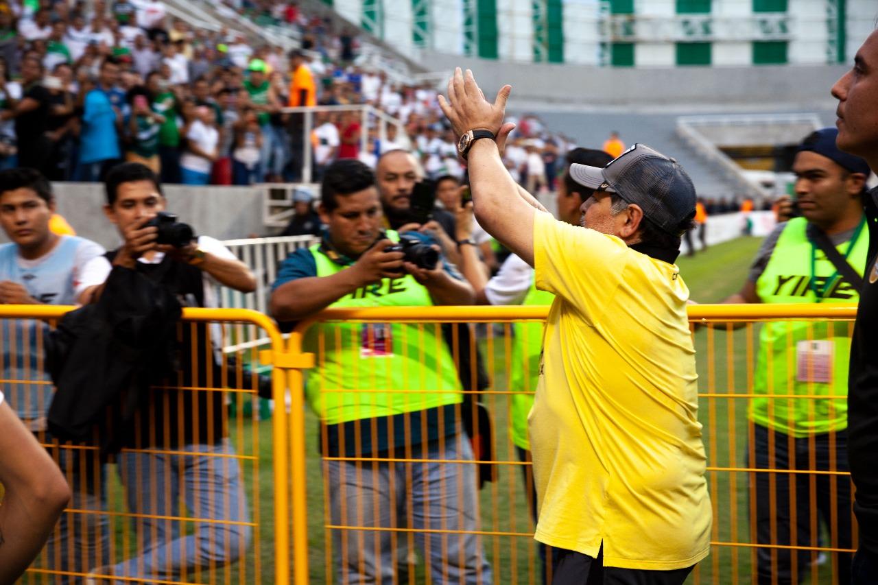 Maradona Dorados Ascenso MX Zacatepec Autografo