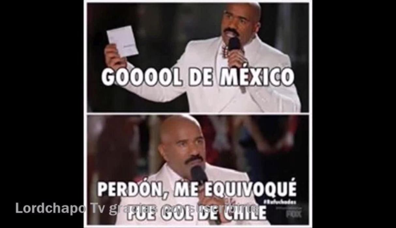 México Chile Memes Steve Harvey