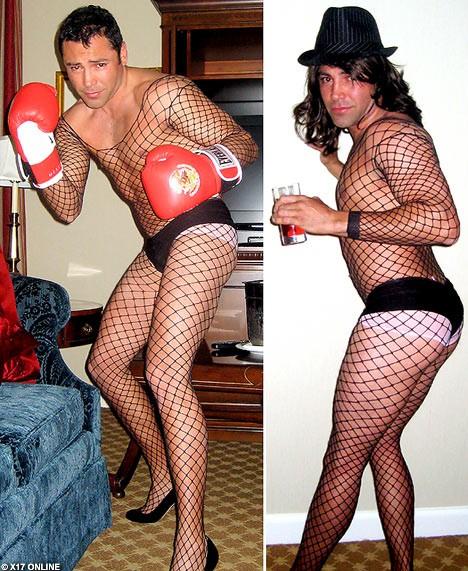 Por Qué óscar De La Hoya Se Tomó Fotos Vestido De Mujer