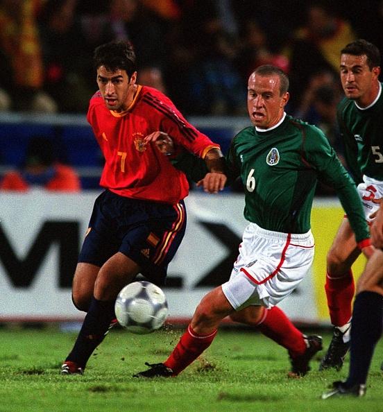 Selección Mexicana, Santiago Bernabéu, España, Amistoso Los Pleyers