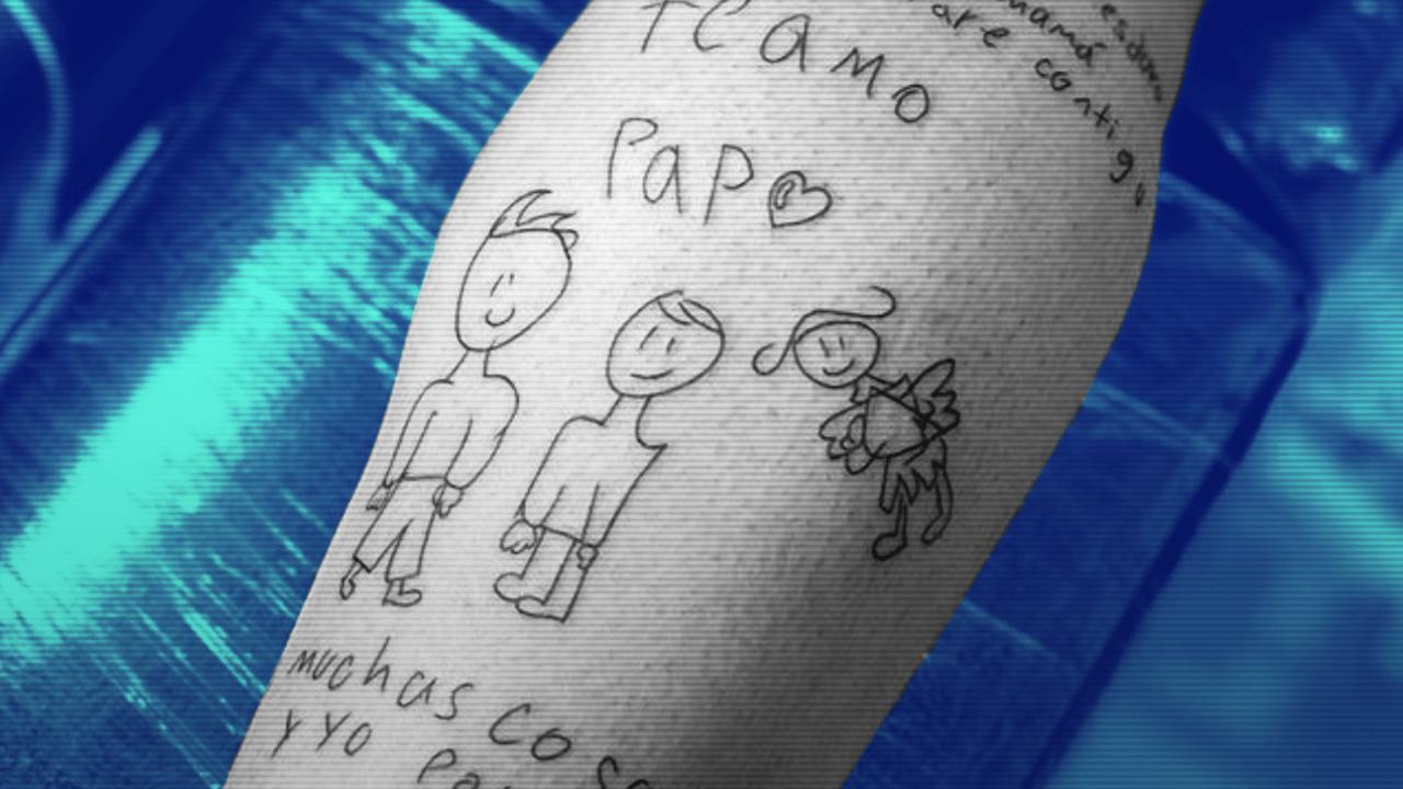 Portero Tatúa Dibujo Hijo Madre Fallecida