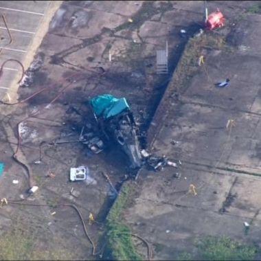 Así fue el accidente en el que falleció el dueño del Leicester [Video]