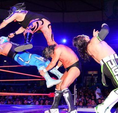 Campeón Peso Medio, Resultados, CMLL, Cuatrero