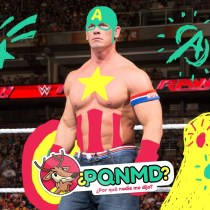 Capitán América John Cena Luchador Marvel