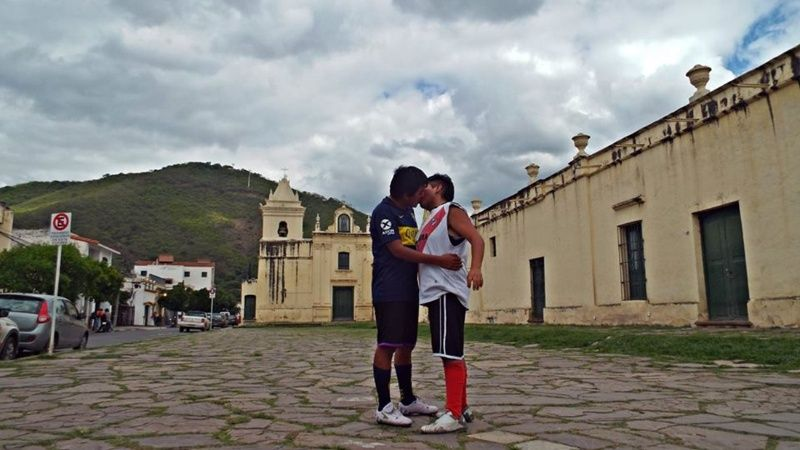 Copa Libertadores, River Plate, Boca Juniors, Beso Hinchas Los Pleyers