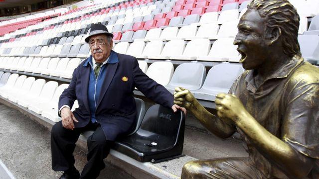 Don Melquiades Sánchez Orozco Estadio Azteca Muere Voz