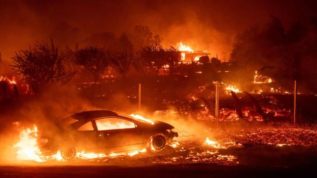 Incendios, California, Kings, NBA, Humo, Forestal