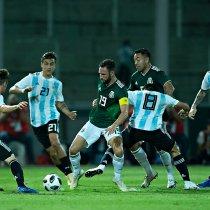 Selección Mexicana, Bajas, Argentina, Europeos, Hiram Mier