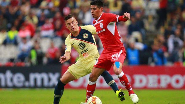 América, Toluca, Jornada 15, Resumen, Liga MX