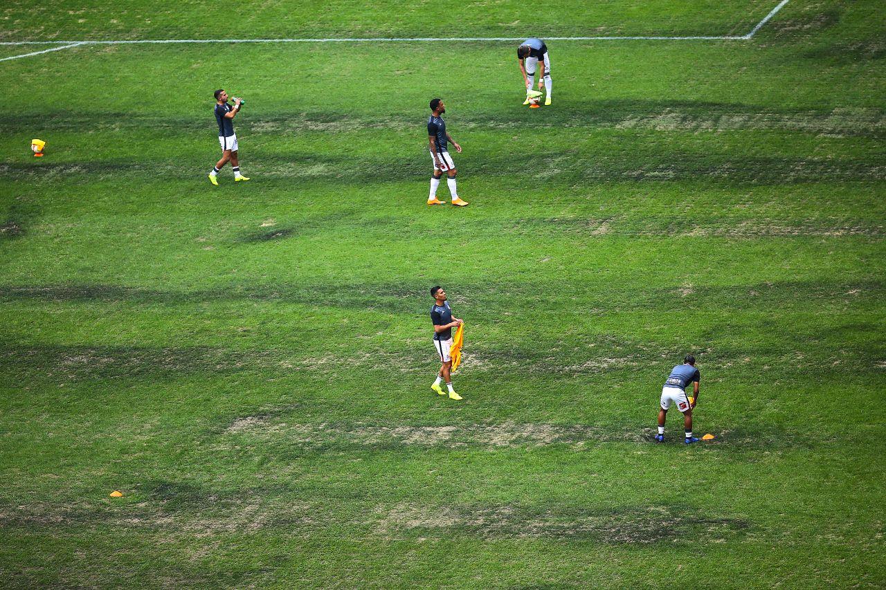 Estadio Azteca, NFL, Cancha, Rescatar, Pasto