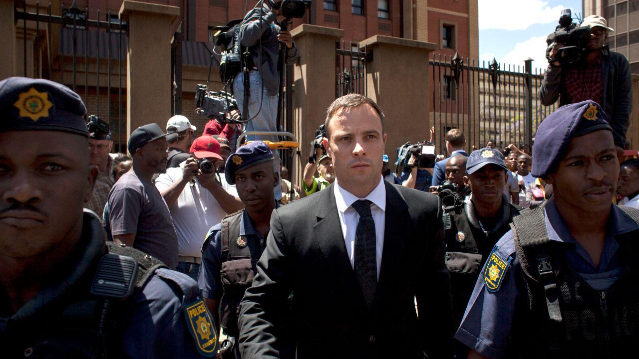 Oscar Pistorius Abandona Prisión Compasión Abuelo