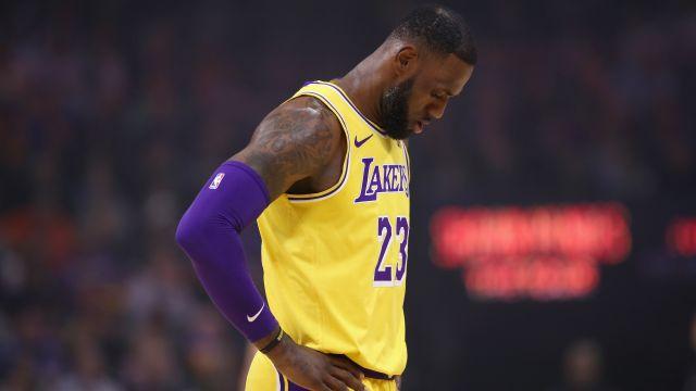 LeBron James, Los Angeles, Lakers, Basura Los Pleyers